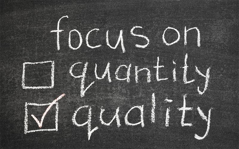 Kodėl svetainės turinio kokybė yra svarbiau už kiekybę?