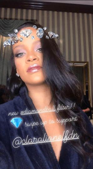 Instagram 2019 metų tendencijos, Rihanna