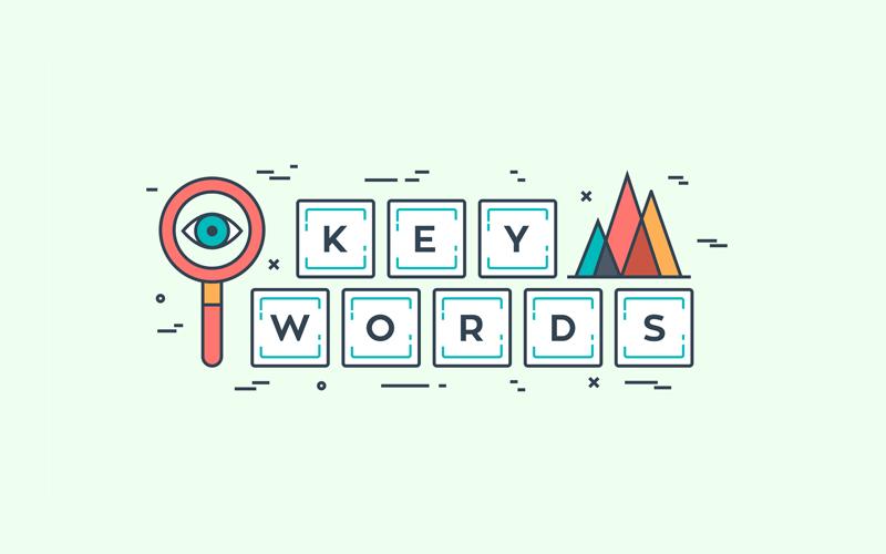 Kaip pasirinkti tinkamus raktinius žodžius?